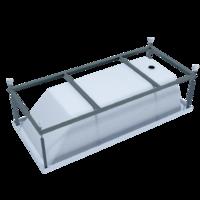 Каркас стальной порошковый для ванны Palermo 180