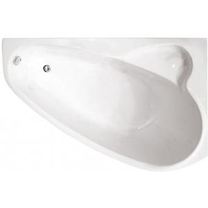 Ванна акриловая угловая асимметричная Пеарл-Шелл 1600х1040х605 (ванна, каркас, слив-перелив автомат) левая фото