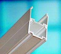 Доборный профиль для душевых шторок на ванну коллекции Купе, + 2 см, белый