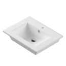 Раковина умывальник встраиваемый Quadro 61х47 см белый