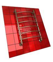 Полотенцесушитель водяной в форме лестницы Модель R 80/50 6 полок, нижнее подключение, цвет состаренная бронза, К1 (без углов)