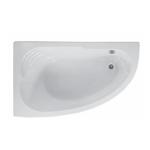Ванна акриловая угловая асимметричная Merida 169x98х64 левосторонняя (каркас отдельно)