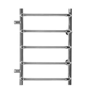Полотенцесушитель водяной в форме лестницы Стандарт П5 500х730, 5 полок, боковое подключение, м.о. 500 фото