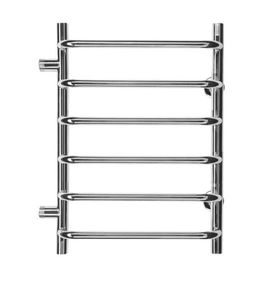 Полотенцесушитель водяной в форме лестницы Стандарт П6 500х730, 6 полок, боковое подключение, м.о. 500 фото