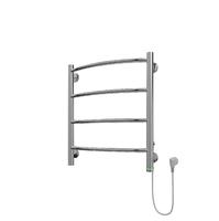 Полотенцесушитель электрический в форме лестницы Классик П4 450х535, сухой ТЭН, диммер, хром