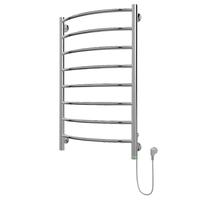 Полотенцесушитель электрический в форме лестницы Классик П8 500х835, сухой ТЭН, диммер, хром