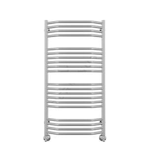 Полотенцесушитель водяной в форме лестницы Виктория Люкс П20 500х1000 (4-6-6-4), нижнее подключение фото