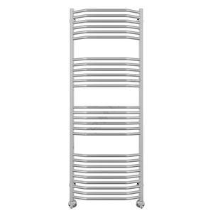 Полотенцесушитель водяной в форме лестницы Виктория Люкс П27 500х1380 (9-6-6-6), нижнее подключение фото