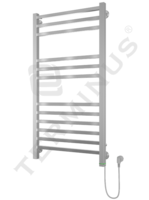 Полотенцесушитель электрический в форме лестницы Ватикан П12 (6+3+3) 500х993, сухой ТЭН, диммер, хром