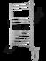 Полотенцесушитель электрический в форме лестницы Ватикан П12 (6+3+3) 500х993, сухой ТЭН, диммер, хром фото