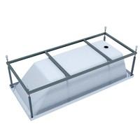 Каркас стальной порошковый для ванны Tokyo 170x75
