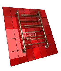 Полотенцесушитель водяной в форме лестницы Модель W 80/50 3 полки, нижнее подключение, цвет состаренная бронза, К1 (без углов) фото